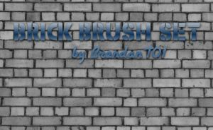 Brick Pattern Brushes by BrendanT01
