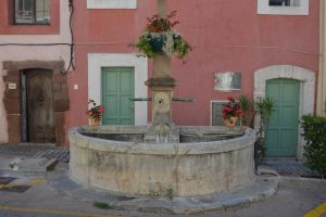 Fountain of 1801 in Provence by A1Z2E3R