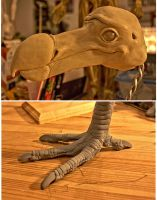 Dodo sculpt by DonnKinney