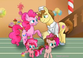My DonutPie family. by raggyrabbit94