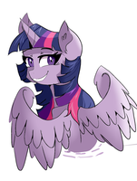 Twilight Sketch (Colored) by Scarletskitty12