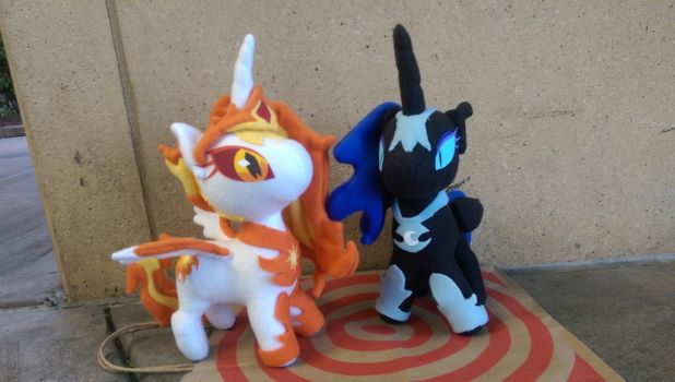 Day Breaker and Nightmare Moon by Jhaub1