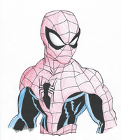Spiderman- Shading Pratice #2 by TheYUO