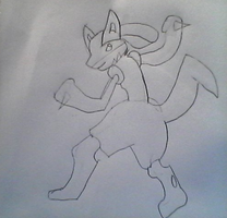 Another Lucario by PhantomPhoenick