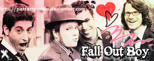 Fall Out Boy - 8th Signature by PerfectPanda