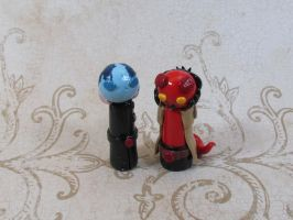 Wobbles: Abe and Hellboy by kitcat4056
