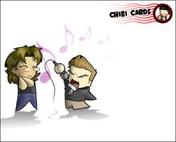 ChibiCard - Sing by CGVickers