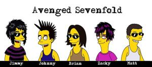 The Avenged Simpsons by Revie6661