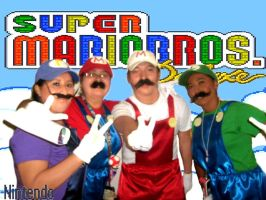 Super Mario All Stars by zoesaday