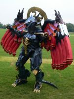 Bahamut Summon Amecon '12 by KaniKaniza