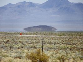 UFO near Tonopah by Synaptica