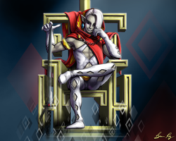 Ghirahim's Throne by BrianPaulRay