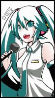 Hatsune Miku Whiteout by SuperEriX