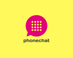 Phone Chat Logo Template by domibit