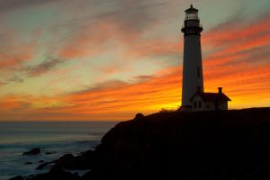 Pigeon Point Sunset by secondclaw