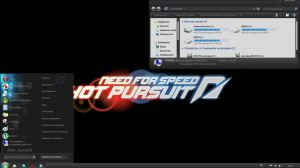 Theme windows 7 need for speed by VashCasella