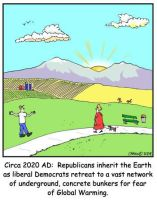 Republicans Inherit the Earth by Conservatoons