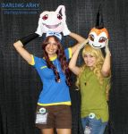 Tai and Matt - Digimon - Cosplay by DarlingArmy