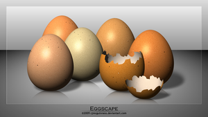 Eggscape by cjmcguinness