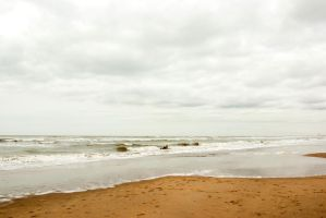 North Sea beach 2 by steppelandstock