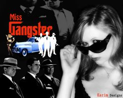 Miss Gangster by mascara84