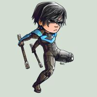 Comish - STK - NightWing by oneoftwo