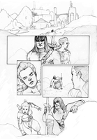 Conan Comic pg1 Pencils by Wabfloyd
