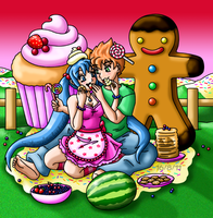 Love in Candy Land by louisalulu