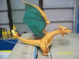 charizard papercraft by rafex17