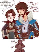 Lon'zu and Laurent by startfrom-scratch