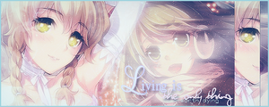 Living is the only thing worth dying -Signature- by xxxypdesignxxx