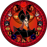 Jafar stained glass by jeorje90