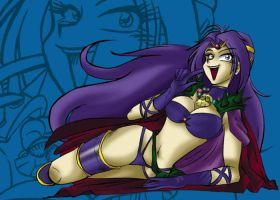2002 :: Sexy Naga from Slayers by PinkAppleJam