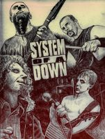 System Of A Down by CMaitland
