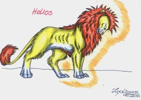 Helios by TigaLioness