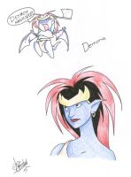 Best Demona EVER by shinga
