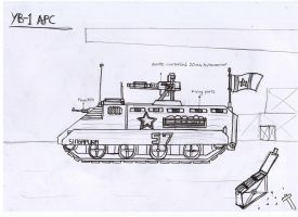 YB-1 'Lion' Armored Personnel Carrier by Target21