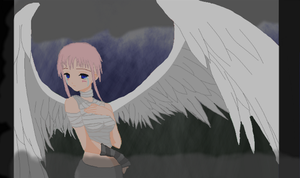 The Lost Angel by AlliTheHunter