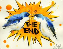 THE END + VIDEO by lora-zombie