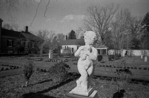 Chatham Manor Garden - Konica 28mm F3.5 Hexanon L by rdungan1918