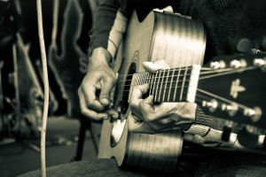 Guitar by fabianphotoworks