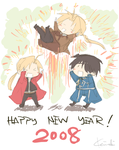 BELATED HAPPY NEW YEAR by evanescent-adoration