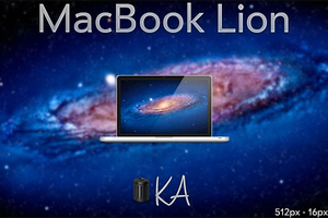 MacBook Lion Icon by AaronOlive