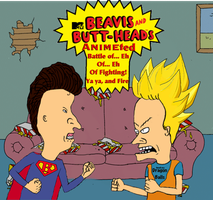 Beavis and Butthead's ANIMEted battle by Tony-Antwonio