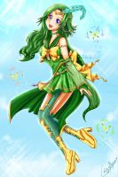 Sailor Console Princess Rydia by YunaSakura