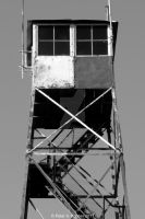 Top of the Tower B+W  by peterkopher
