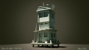 HouseOnWater WIP by AhmadTurk