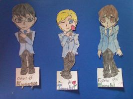 Ouran Bookmarks 2 by caged-birds