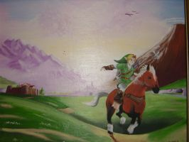 Ocarina of Time 3DS copy by DNLINK