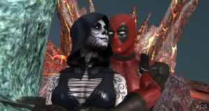Death Loves Deadpool by cablex452